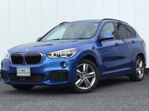 BMW X1 xDrive 18d Mスポーツ コンフォートP ドライブA LEDライト HDDナビ Blue-Tooth アイドリングストップ シートヒーター ETC車載器 電動リアゲート マルチファンクションステアリング 1オーナー 禁煙車