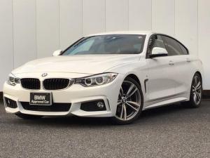 BMW 4シリーズ 420iグランクーペ Mスポーツ アクティブクルーズコントロール キセノンライト 純正HDDナビゲーション リアカメラ リアPDC ETC車載器 Blue-Tooth アイドリングストップ 電動リアゲート パドルシフト 禁煙車