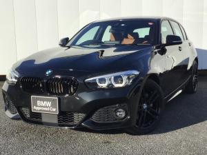BMW 1シリーズ 118d Mスポーツ エディションシャドー アクティブクルーズコントロール ブラウンレザーシート コンフォートアクセス リアカメラ 前後パークディスタンスコントロール 純正HDDナビ Blue-Tooth LED ETC 禁煙車