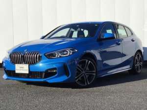 BMW 1シリーズ 118i Mスポーツ ナビゲーションパッケージ コンフォートパッケージ アクティブクルーズコントロール ドライブアシスト SOSコール Blue Tooth マルチ液晶モニター 18インチAW ETC 1オーナー 禁煙車