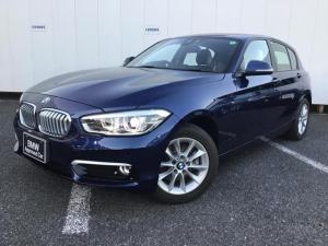 BMW 1シリーズ 118i スタイル パーキングサポートP 純正HDDナビゲーション Blue Tooth ミュージックサーバー リアカメラ クルーズコントロール ドライブアシスト アイドリングストップ LEDライト ETC 1オーナー