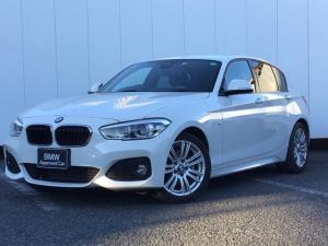 BMW 1シリーズ 118d Mスポーツ パーキングサポートパッケージ コンフォートパッケージ 純正HDDナビゲーション Blue Tooth ミュージックサーバー LEDライト 17インチAW リアカメラ ETC 1オーナー 禁煙車