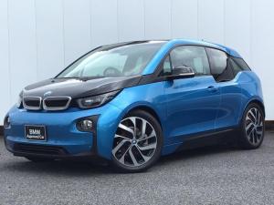 BMW i3 アトリエ レンジ・エクステンダー装備車 プラスパッケージ プライバシーガラス アクティブクルーズコントロール ドライブA 純正HDDナビゲーション ミュージックサーバー Blue Tooth LEDライト コンフォートアクセス 禁煙車