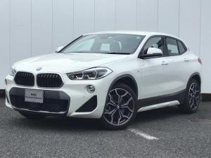 BMW X2 xDrive 20i MスポーツX コンフォートアクセス 電動リアゲート パドルシフト リアカメラ 前儀パークディスタンスコントロール フロントシートヒーター アイドリングストップ ハーフレザーシート LED ETC 19AW 禁煙車