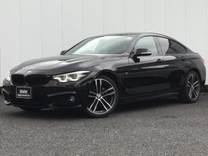 BMW 4シリーズ 420iグランクーペ Mスポーツ アクティブクルーズC ドライブアシスト コンフォートアクセス アイドリングストップ リアカメラ 前後パークディスタンスコントロール Blue Tooth ミュージックサーバー 1オーナー 禁煙車