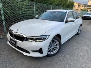 BMW 3シリーズ 318i アクティブクルーズコントロール ドライブアシスト パーキングアシストプラス アイドリングストップ 純正HDDナビゲーション Blue Tooth ミュージックサーバー LED 弊社デモカー 禁煙車