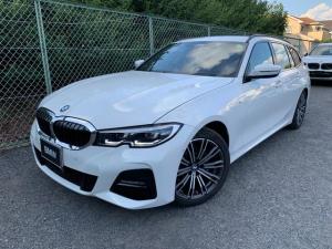 BMW 3シリーズ 318iツーリング Mスポーツ アクティブクルーズコントロール ドライブアシスト パーキングアシストプラス 純正HDDナビゲーション Blue Tooth ミュージックサーバー アイドリングストップ LED 弊社デモカー 禁煙車