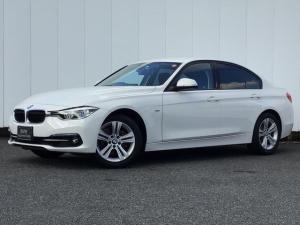 BMW 3シリーズ 318iスポーツ クルーズコントロール ドライブアシスト コンフォートアクセス Rカメラ アイドリングストップ 純正HDDナビゲーション Blue Tooth ミュージックサーバー LED ETC 1オーナー 禁煙車