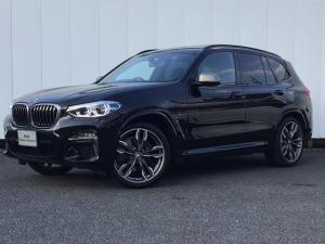 BMW X3 M40d ブラックレザー Gサンルーフ ハーマンカードンスピーカー トップビューカメラ 地デジチューナー ヘッドアップディスプレイ Blue Tooth 21インチAW コンフォートアクセス 1オーナー 禁煙車