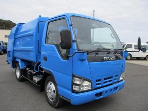いすゞ エルフトラック 新明和プレス式4.2m3 修復歴なし パワステ エアコン