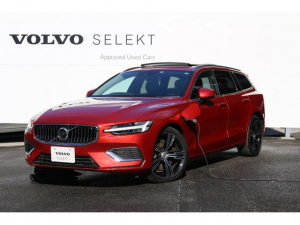ボルボ V60 T6 ツインエンジン AWD インスクリプション 認定中古車 PHEV 電動サンルーフ 19インチアルミ