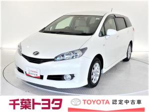 トヨタ ウィッシュ 2.0G 認定中古車 新品タイヤ4本交換付 バックモニター