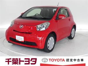 トヨタ iQ 100G トヨタ認定中古車 新品タイヤ4本交換付 保証付き