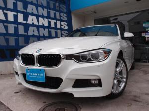 BMW 3シリーズ 320dツーリング Mスポーツ 1オーナー 純正ナビ Bカメラ 電動リアゲート Bluetooth パワーシート パドルシフト キセノン スマートキー ミラーETC 純正AW