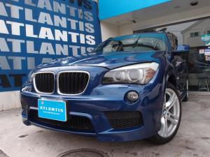 BMW X1 sDrive 18i Mスポーツパッケージ ナビ TV バックカメラ ETC キセノン プッシュスタート ルーフレール ステアリングスイッチ 純正AW