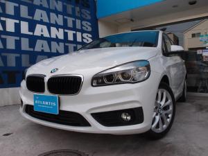 BMW 2シリーズ 218iアクティブツアラーセレブレションEDファッシ ベージュ革 ナビ バックカメラ 衝突警告 電動リアゲート コンフォートアクセス キセノン ETC シートヒーター 純正AW