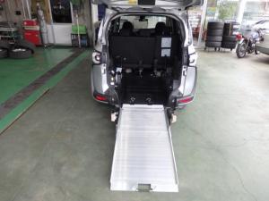 トヨタ シエンタ X 車いす仕様 スロープタイプ ウェルキャブ ナビ ETC