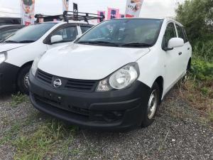 日産 AD VE 商用車 AC オーディオ付 ETC 5名乗り 白