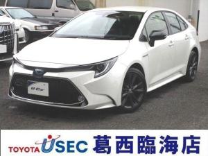 トヨタ カローラ HV WXB 未登録デモカー 9型画面 RCTA BSM