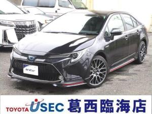 トヨタ カローラ ハイブリッド WXB未登録デモカー 9型画面RCTA BSM