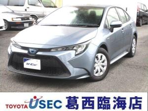 トヨタ カローラ HV G-X 未登録デモカー BSM ICS スマートキー