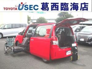 トヨタ スペイド X ウェルキャブ 助手席リフトUPシート Bタイプ 車いす収納装置 左側パワースライドドア トヨタセーフティセンス アイドリングストップ スマートキー 消費税非課税車