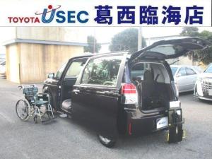 トヨタ スペイド X ウェルキャブ 助手席回転チルトシート Bタイプ 車いす収納装置 左側パワースライドドア トヨタセーフティセンス アイドリングストップ スマートキー フットレスト 消費税非課税車