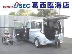 トヨタ タンク X S ウェルキャブ 助手席リフトUPシート車 Bタイプ リアクレーン 左側パワースライドドア スマートキー スマートアシスト2 専用車いす付 消費税非課税車 福祉車両