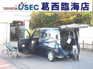 トヨタ タンク X S ウェルキャブ 助手席リフトUPシート車 Bタイプ リアクレーン 左側パワースライドドア スマートキー スマートアシスト2 専用車いす付 特別色 消費税非課税車 福祉車両