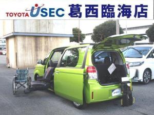トヨタ スペイド X ウェルキャブ 助手席リフトUPシート Bタイプ 車いす収納装置 左側パワースライドドア トヨタセーフティセンス インテリジェントクリアランスソナー 専用車いす スマートキー 消費税非課税
