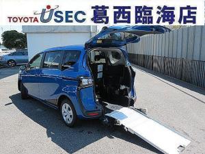 トヨタ シエンタ X ウェルキャブ トヨタセーフティセンス 車いす仕様車 タイプ1 助手席側セカンドシート付車 片側パワースライドドア キーレス 5ナンバー 車いす固定ベルト 5名乗車 福祉車両 3年保証付き