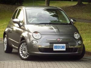 フィアット 500 クラシカ 50台限定車 限定色エレクトロクラッシュグレー 禁煙車 純正アルミ ナビ