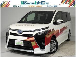 トヨタ ヴォクシー ハイブリッド ZS 7人乗り 東京2020オリンピック・パラリンピックの大会運用に使用された車両です。衝突軽減ブレーキ 踏み間違い抑制 純正フルセグSDナビ Bカメラ スマートキー ETC クルコン Wパワスラ シートヒーター