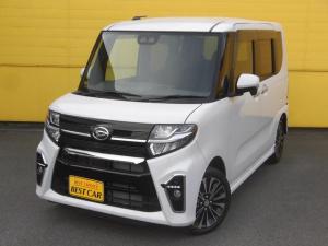 ダイハツ タント カスタムRS 現行型 4WD 純正メモリーナビTV