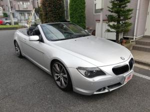 BMW 6シリーズ 645Ciカブリオレ純正ナビETCアルミバックモニター