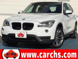 BMW X1 sDrive 18i スポーツ 1年間走行無制限保証付き/ナビ/ETC/HID/スマートキー/純正HDDナビ