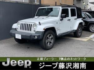 クライスラー・ジープ ジープ・ラングラーアンリミテッド サハラ Make My Jeep 認定中古車 ソフトトップ