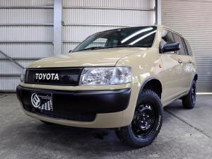 トヨタ プロボックスバン GL 4WD 新品ホイール 新品M/Tタイヤ 新品リフトアップ 新品フェンダーアーチモール クラシックグリル加工 カスタムカラー ナビ 地デジ DVD再生 ETC キーレスエントリー 長期保証付
