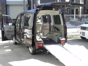 スバル ディアスワゴン  ターボ 走行約12000km スローパー リア補助席付4人乗り福祉車両 電動ウインチ 固定ベルト リアヒーター 折り畳み式補助席 リモコンキー ウインチリモコン付 格納ミラー