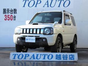 スズキ ジムニー ワイルドウインド 4WD ターボ 7型 5速マニュアル ETC ルーフレール CD シートヒーター フォグ 純正アルミ キーレス 保証付き