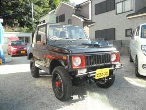 スズキ ジムニー ターボ 5速MT 幌タイプ 社外ロールバー 4WD 革シート