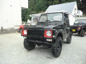 スズキ ジムニー リフトアップ 公認自社オールぺン済 社外Rバンパー 4WD