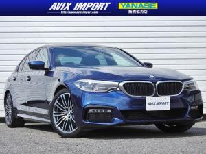 BMW 5シリーズ 523dMスポーツ イノベーションP 黒革 Dアシストプラス