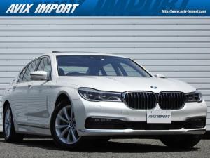 BMW 7シリーズ 740eアイパフォーマンス ドライビングアシストプラス 黒革 アクティブクルーズコントロール ガラスSR ナビTVサラウンドビュ- harman/kardon コンフォ-トアクセス メモリ-付パワ-シ-ト/ヒ-タ- ベンチレ-タ LEDライト 18AW 禁煙