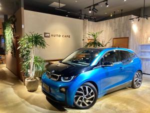 BMW i3 アトリエ レンジ・エクステンダー装備車 コンフォートアクセス 衝突軽減ブレーキ 19インチAW LEDヘッドライト シートヒーター アクティブクルーズコントロール 運転支援 バックカメラ 純正ナビ ETC サンプロテクションガラス