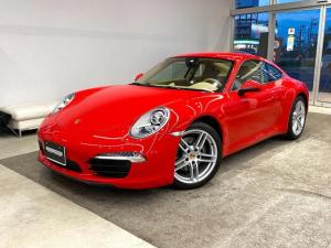 ポルシェ 911 911カレラ ベージュレザー アルカンターラルーフ エントリー&ドライブ スポーツクロノPKG