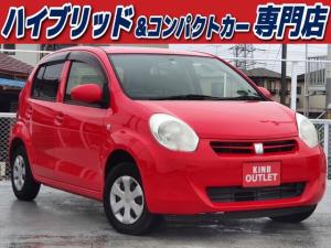 トヨタ パッソ X クツロギ ナビ Bluetooth スマートキー バイザー PVガラス 電格ミラー ベンチシート 横滑り防止 ABS イモビライザー タイミングチェーン 整備保証付