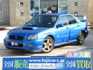スバル インプレッサ WRX 2004 Vリミテッド 5速 STIリップ 新品ナビ
