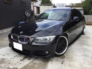 BMW 3シリーズ 325i Mスポーツパッケージ AT FULL 2WD ナビ TV サンルーフ 本革シート 車高調 社外アルミホイール 社外サイド&リアスポイラー LEDフォグランプ パドルシフト