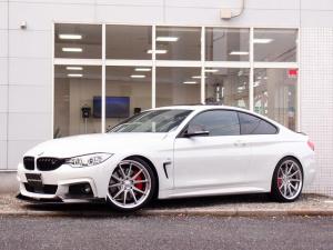 BMW 4シリーズ 420iクーペMスポ HDD地デジナビ SR 車高調20AW